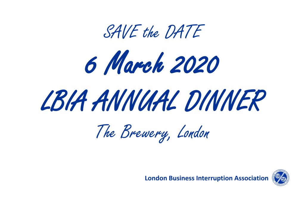 LBIA Annual Dinner 2019